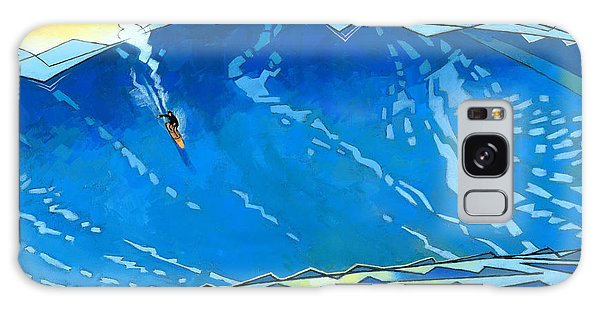 Water Ocean Galaxy Case - Big Wave by Douglas Simonson