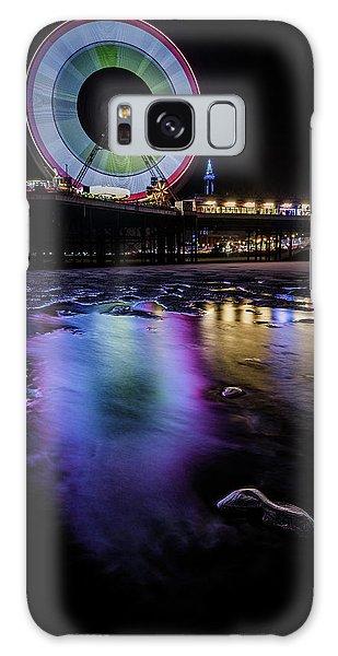 Colours Galaxy Case - Big Wheel Colour  by Mark Mc neill