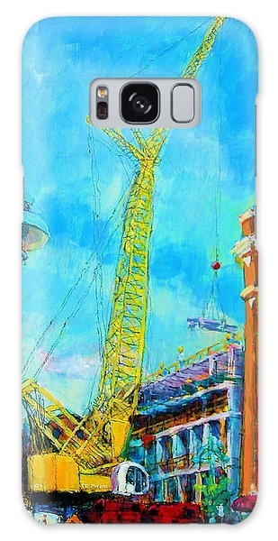 Big Yellow Galaxy Case by Les Leffingwell