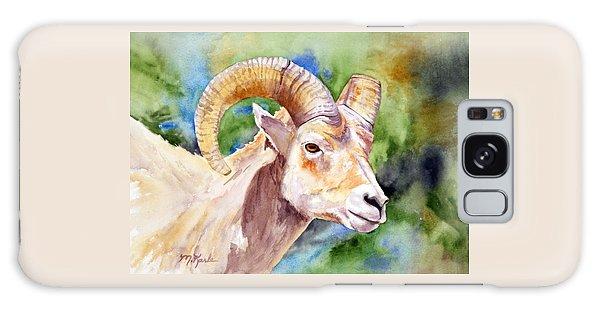 Bighorn Sheep Portrait Galaxy Case