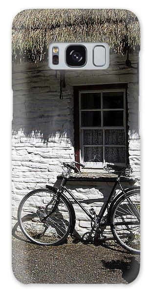 Bike At The Window County Clare Ireland Galaxy Case