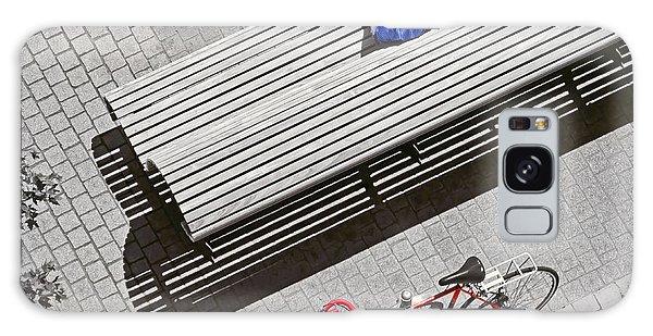 Bike Break Galaxy Case by Keith Armstrong