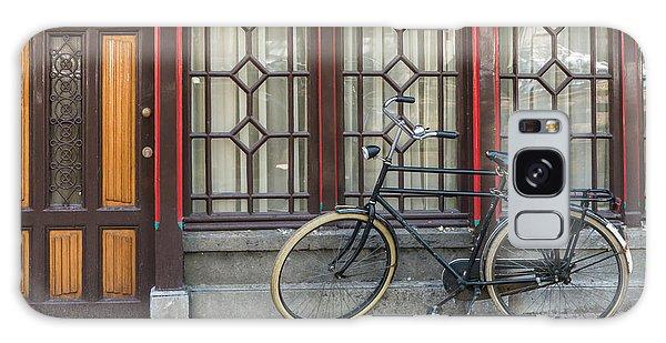 Bike In Amsterdam Galaxy Case