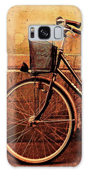 Bicycle At Rest, Paris  Galaxy Case