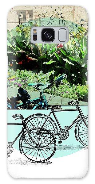 Bike Poster Galaxy Case