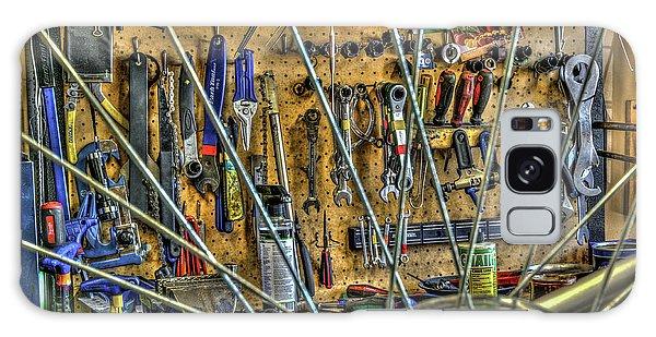 Bike Repair Shop Galaxy Case