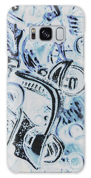 Automobile Galaxy Case - Bikes And Blue Cities by Jorgo Photography - Wall Art Gallery