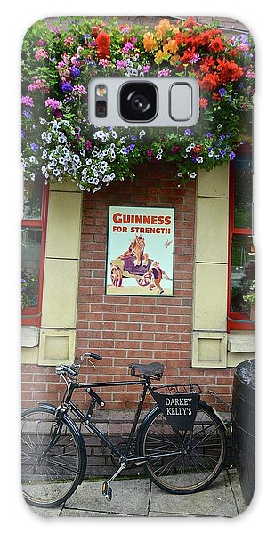 Bikes And Guinness Galaxy Case