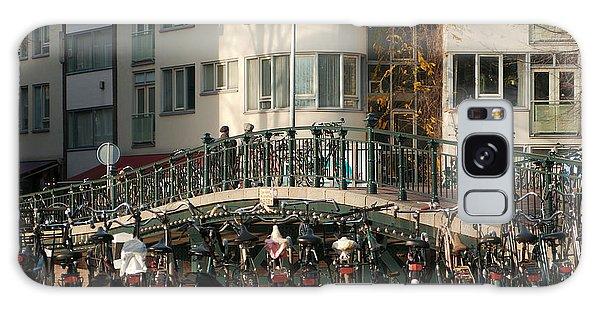 Bikes Bridge And Bird Galaxy Case