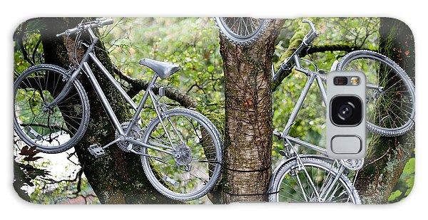 Bikes In A Tree Galaxy Case