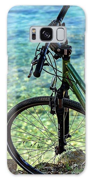 Biking The Rovinj Coastline - Rovinj, Istria, Croatia Galaxy Case