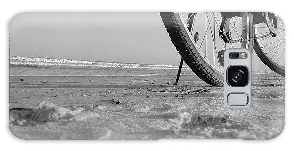 Biking To The Beach Galaxy Case