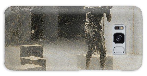 Bill Russell Statue Galaxy Case