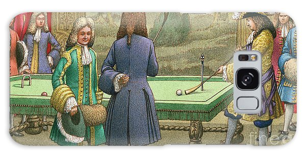 Tapestry Galaxy Case - Billiards, As Played By Louis Xiv At Versailles by Pat Nicolle