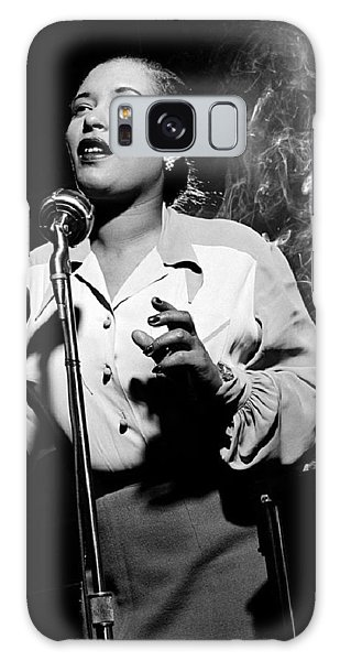 Billie Holiday  New York City Circa 1948 Galaxy Case by David Lee Guss