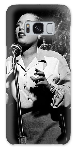 Billie Holiday  New York City Circa 1948 Galaxy Case