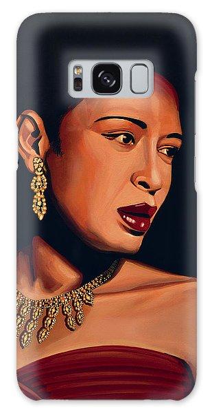 Lady Galaxy Case - Billie Holiday by Paul Meijering