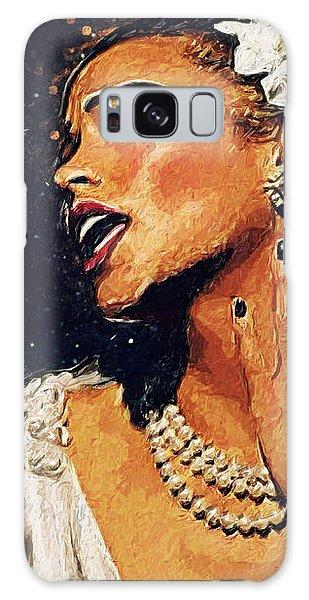 Galaxy Case - Billie Holiday by Zapista Zapista