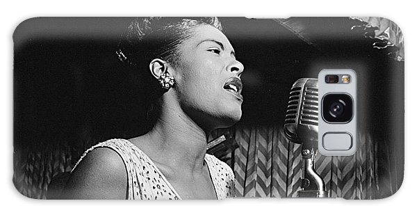 Billie Holiday William Gottlieb Photo New York City 1947 Galaxy Case