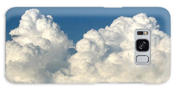Galaxy Case featuring the photograph Billowing Clouds 1 by Rose Santuci-Sofranko