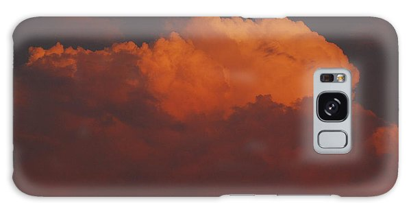 Billowing Clouds Sunset Galaxy Case