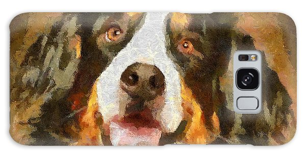 Bimbo - Bernese Mountain Dog Galaxy Case by Dragica  Micki Fortuna