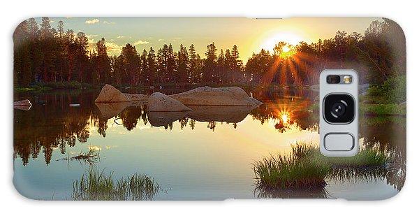 Kings Canyon Galaxy Case - Binary Sunrise by Brian Knott Photography