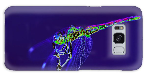 Bioluminescent Dragonfly Galaxy Case