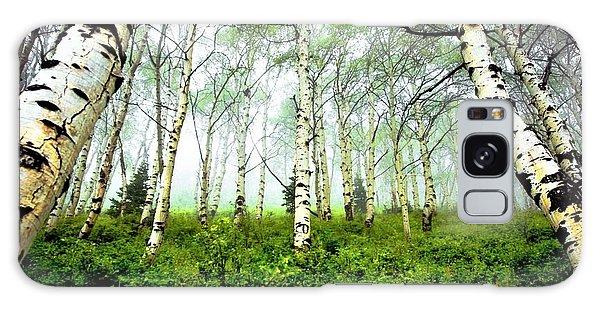 Tree Galaxy Case - Birch by Kimmy Jardetzky