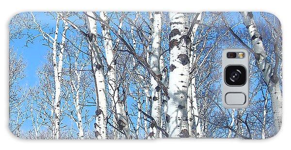 Birch Sky Galaxy Case