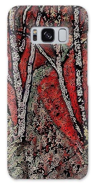 Birch Tree Mosaic Galaxy Case