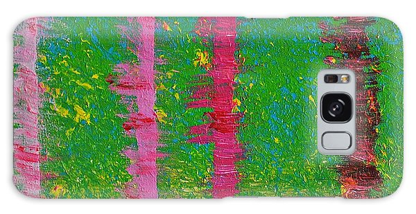 Birch Trees In The Wind Galaxy Case