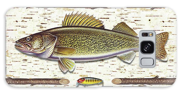 Birch Walleye Galaxy Case