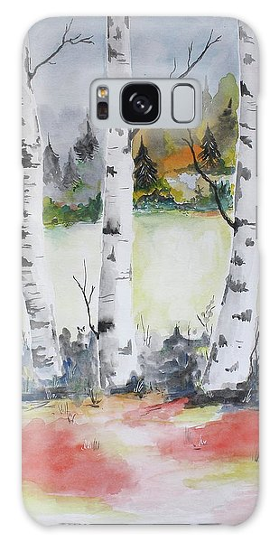 Birches Galaxy Case