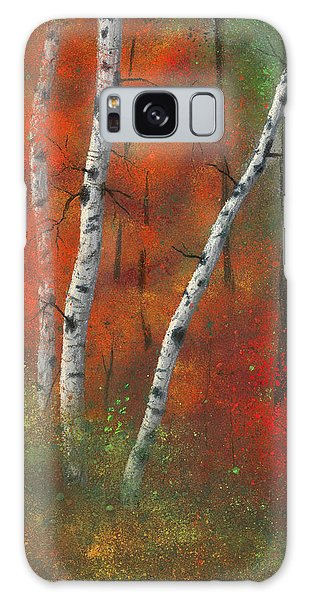 Birches II Galaxy Case