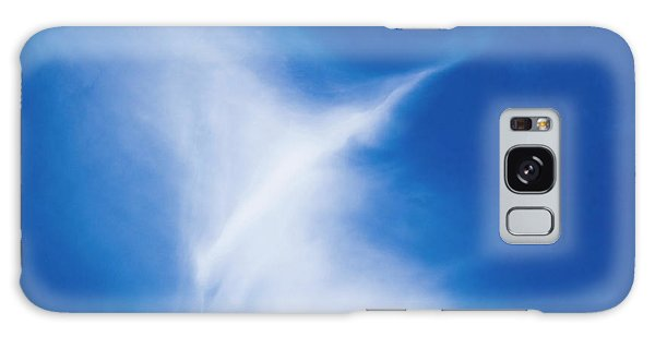 Galaxy Case featuring the photograph Bird Cloud by Yulia Kazansky