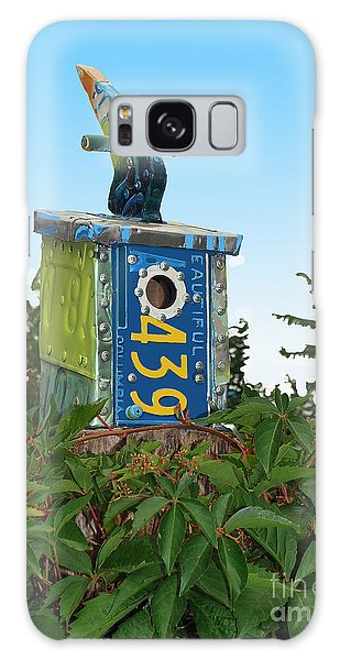 Bird House 439 Galaxy Case