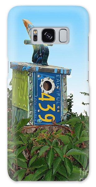 Bird House 439 Galaxy Case