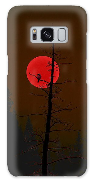 Bird In A Tree Galaxy Case by Stuart Turnbull