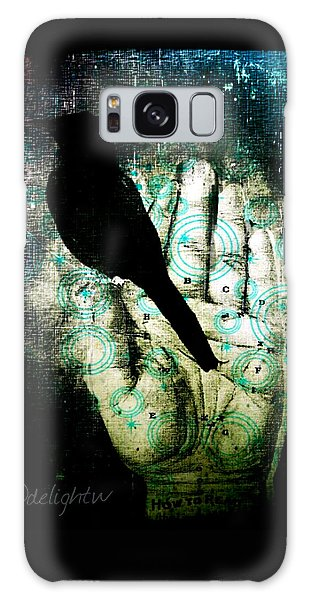 Bird In Hand Galaxy Case