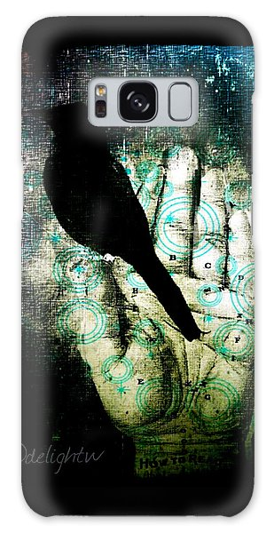 Bird In Hand Galaxy Case