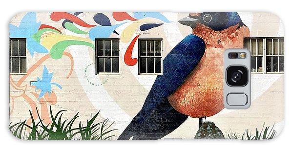 Galaxy Case - Bird Mural by Julie Gebhardt