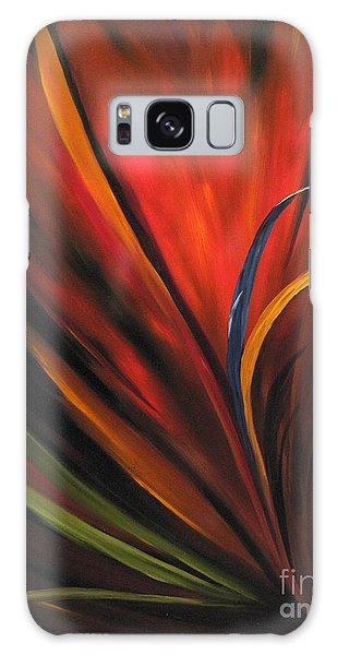Bird Of Paradise Galaxy Case by Carol Sweetwood