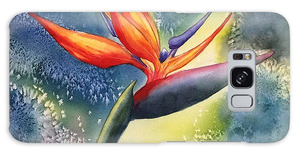 Bird Of Paradise Flower Galaxy Case