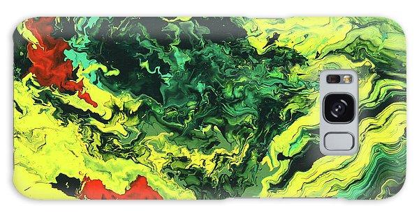 Bird Of Paradise Galaxy Case by Ralph White