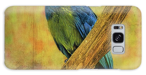 Bird On A Branch Galaxy Case
