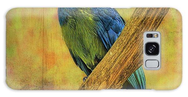 Bird On A Branch Galaxy Case