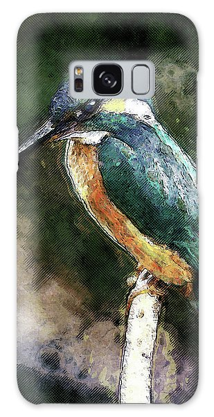 Bird On A Branch Galaxy Case by Phil Perkins