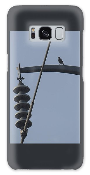 Bird On A High Wire Galaxy Case