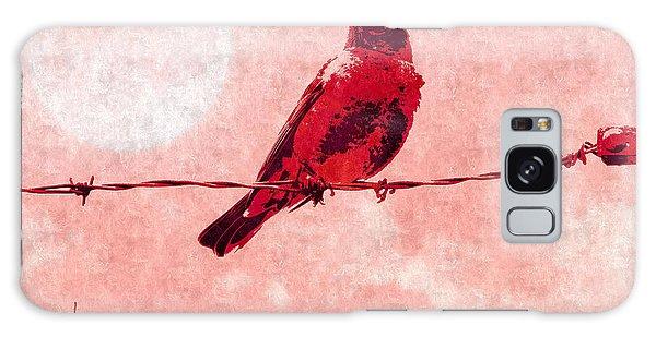 Song Birds Galaxy Case - Bird On The Wire  by Putterhug  Studio